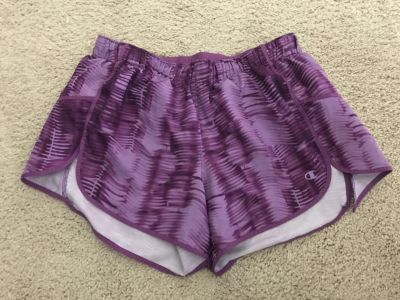 Champion shorts with liner. Size small. Excellent condition. Porch pickup.