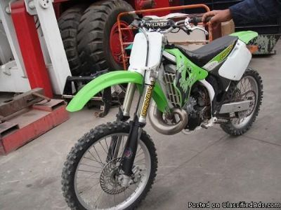 KAWASAKI RACING MOTORCYCLE