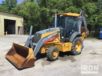 2014 (unverified) John Deere 310K 4x4 Backhoe Loader