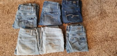 Justice Jeans - 6 pairs