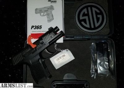 For Sale: SIG SAUER P365 365 9MM 10+1 P365 SUB COMPACT