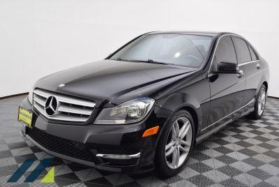 2013 Mercedes-Benz C-Class C300 4MATIC Luxury (black)