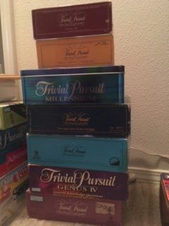 trivial pursuit game collection