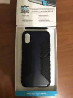 Speck PRESIDO GRIP IPhone X case