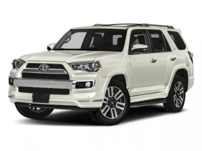 2018 Toyota 4Runner Limited (MIDNIGHT BLACK METAL)