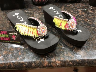Gypsy Sole wedge shoes