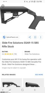 For Sale/Trade: Slidefire Right Handed and 7 Pmags