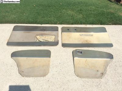 Door Panels For 58-59 Beetles