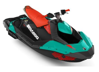 2018 Sea-Doo Spark 3up Trixx iBR 3 Person Watercraft Island Park, ID