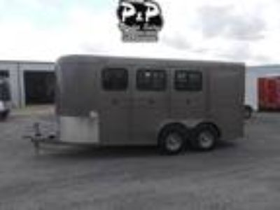 "2019 CM Trailers Dakota 3-Horse 16 ft. 6' W x 6' 6"" T 3 horses"