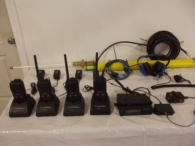 Motorola Long Track Radio System