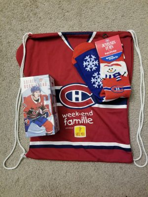 Canadiens Package! With Brendan Gallagher Bobblehead!