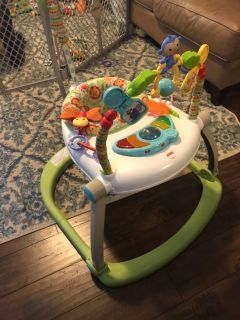 Fisher Price fold up exersaucer