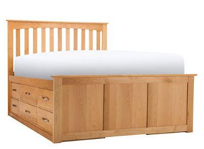 Queen bedframe storage bed