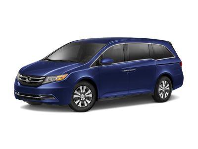 2015 Honda Odyssey EX (Dark Cherry Pearl)