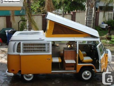 westphalia camper pop top canvas