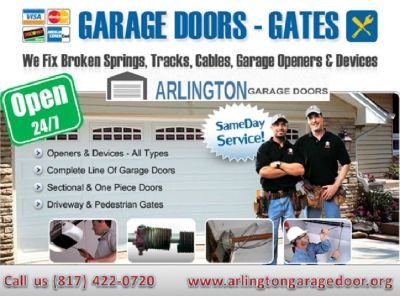 1 hrs Emergency Garage Door Repair Services in Arlington 76006 | $25.95