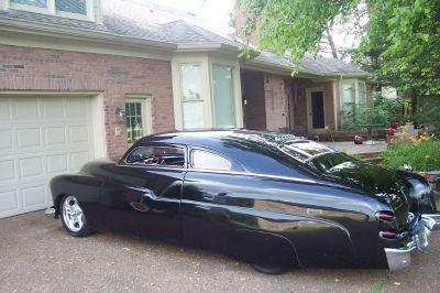 CHOPPED MERCURY SHOW CAR HOT ROD