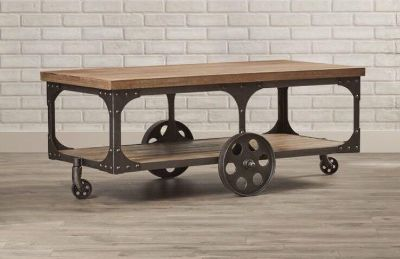 Brand new industrial style coffee table