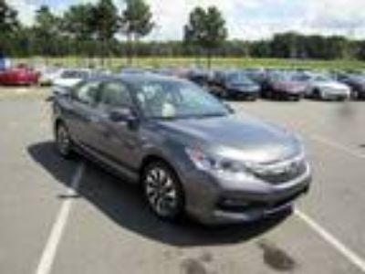 2017 Honda Accord Hybrid Gray, new