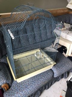 Lovely shaped bird cage