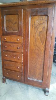 Antique wardrobe Located in Lawrence