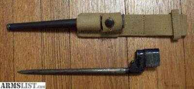 For Sale: Enfield No. 4, MK II Spike Bayonet-Long Branch