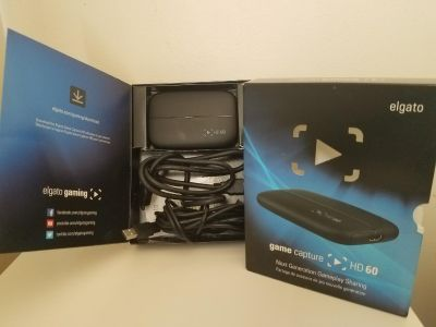 Elgato Game Capture Card HD 60 (Lightly Used, with Box)