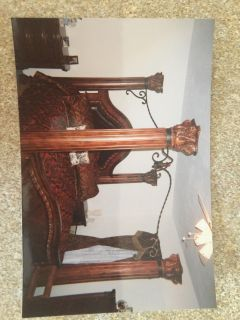 King Size Beautiful Rosewood Bed
