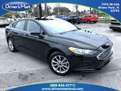 2017 Ford Fusion SE (black)