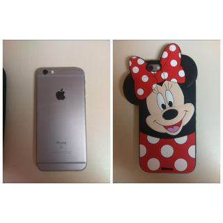 Unlocked iphone 6s 64gb + brand new minnie mouse cover