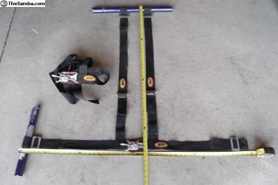 4 and 5 point seat belt harness (s)