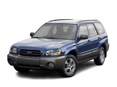 2003 Subaru Forester X (Woodland Green Pearl/Textured Gray)