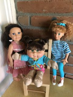 Quality Dolls, all for 8