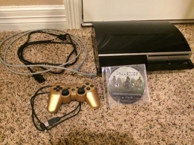 PS3 & Game w/ controller