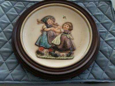 Spring Dance 1980 Hummel Anniversary Plate