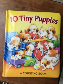 10 Tiny Puppies Board Book