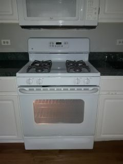 General electric gas stove range