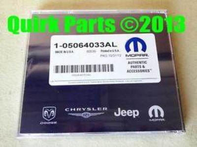 Purchase Dodge Jeep Chrysler NAVTEQ Navigation DVD OEM MOPAR GENUINE OEM NEW FACTORY! motorcycle in Braintree, Massachusetts, United States, for US $145.08