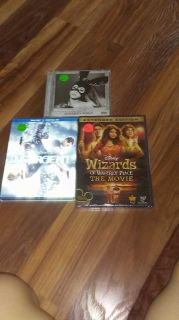 Movie and cd lot