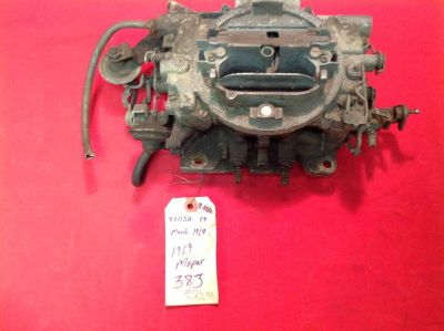 Buy '68 '69 Chrysler Dodge Plymouth Carburetor #4711SA C-4 AVS 340 383 413 4 bbl motorcycle in Milton, Pennsylvania, US, for US $50.00