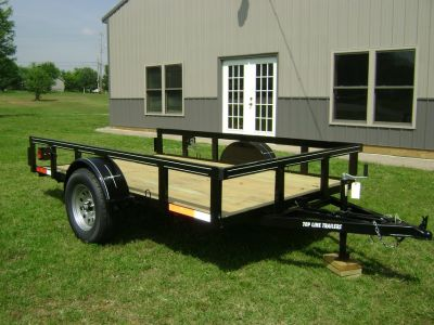 Trailers (Single Axle, Tandem Utility, & Flatbeds) Starting @ 725
