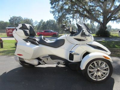 2017 Can Am SPYDER RT (White)