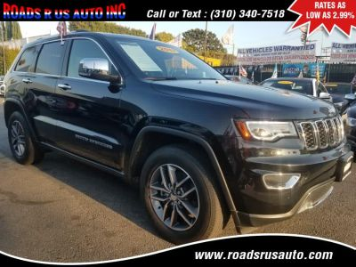 2017 Jeep Grand Cherokee Limited NAVI PANO (Diamond Black Crystal Pearlcoat)