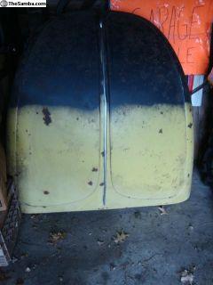 Hood, 74 Super Beetle