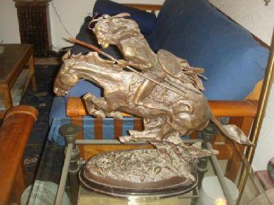 Western Bronze statues