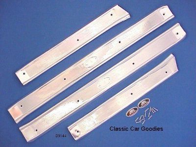 Find 1963-1964 Chevy 4 Door Sill Plates for Full Size Models motorcycle in Aurora, Colorado, US, for US $134.99