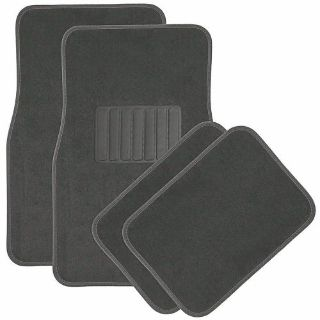 Find Car Floor Mats for Auto 4pc Carpet Semi Custom Fit Heavy Duty w/Heel Pad Grey motorcycle in Gardena, California, United States, for US $13.00