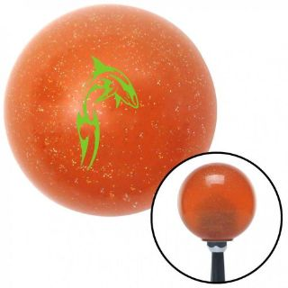Buy Green Dolphin in Air Orange Metal Flake Shift Knob with 16mm x 1.5 Insertknob motorcycle in Portland, Oregon, United States, for US $29.97