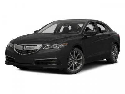 2015 Acura TLX V6 Tech (Crystal Black Pearl)